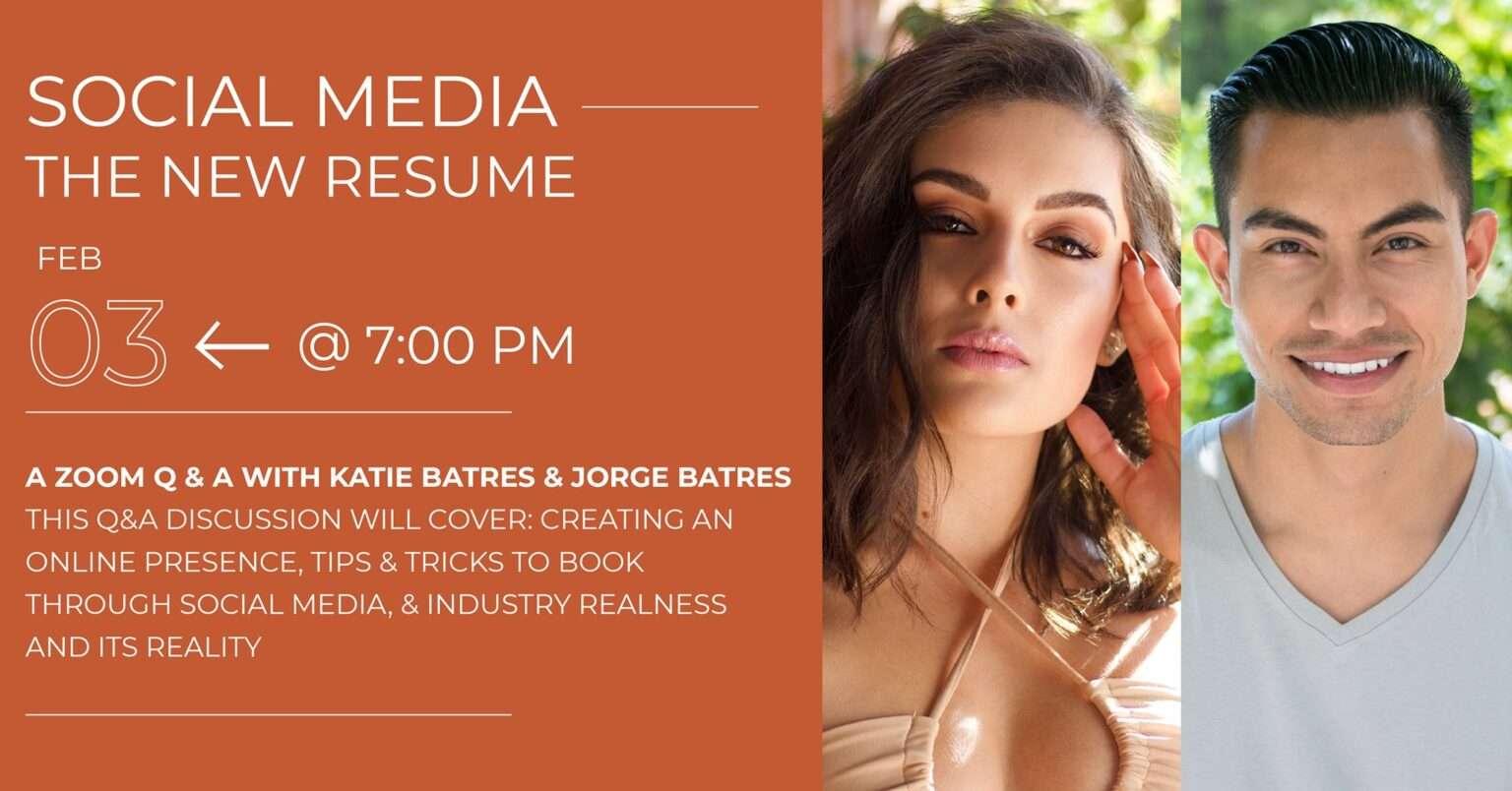Social Media - The New Resume