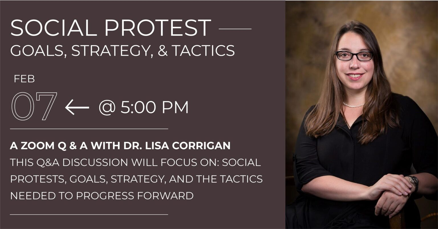 Social Protest - Goals, Strategies, and Tactics